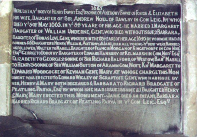 Tomb inscription close up