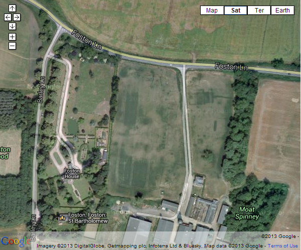 Aerial view of deserted village 01